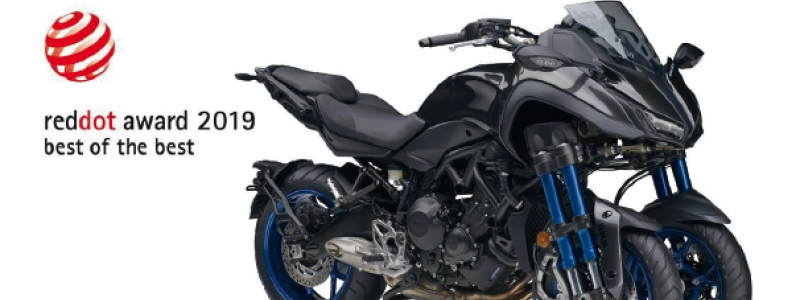 BEST OF THE BEST YAMAHA NIKEN WINT 2019 RED DOT